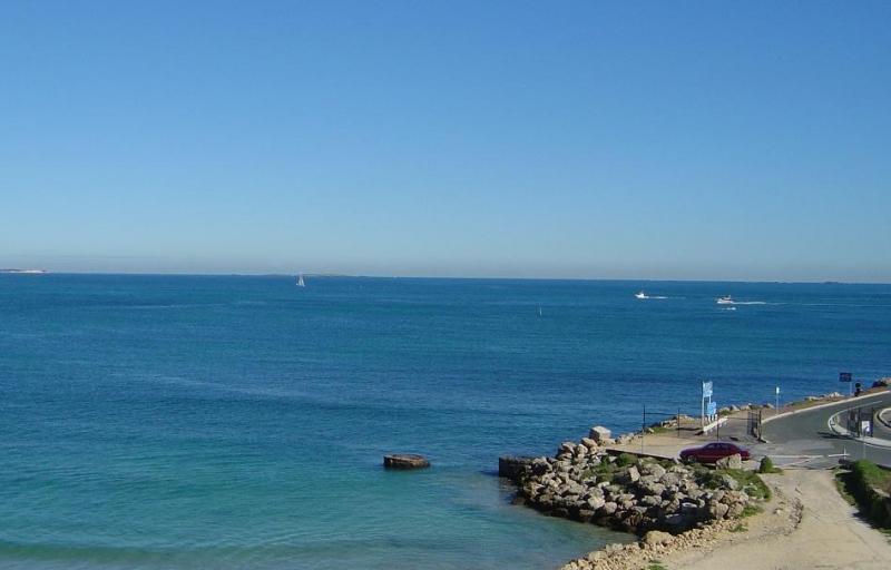 フリーマントルから見たインド洋